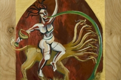 Study After Jacobello Albergno Polittico dell'Apocalisse 1397, or, Babalon Is Happier Without Any Clothes!s
